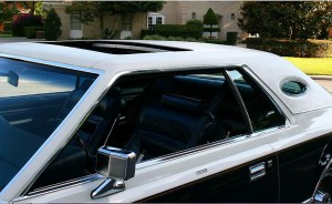 1979 Lincoln Mark V Bill Blass Edition With Exposed Opera