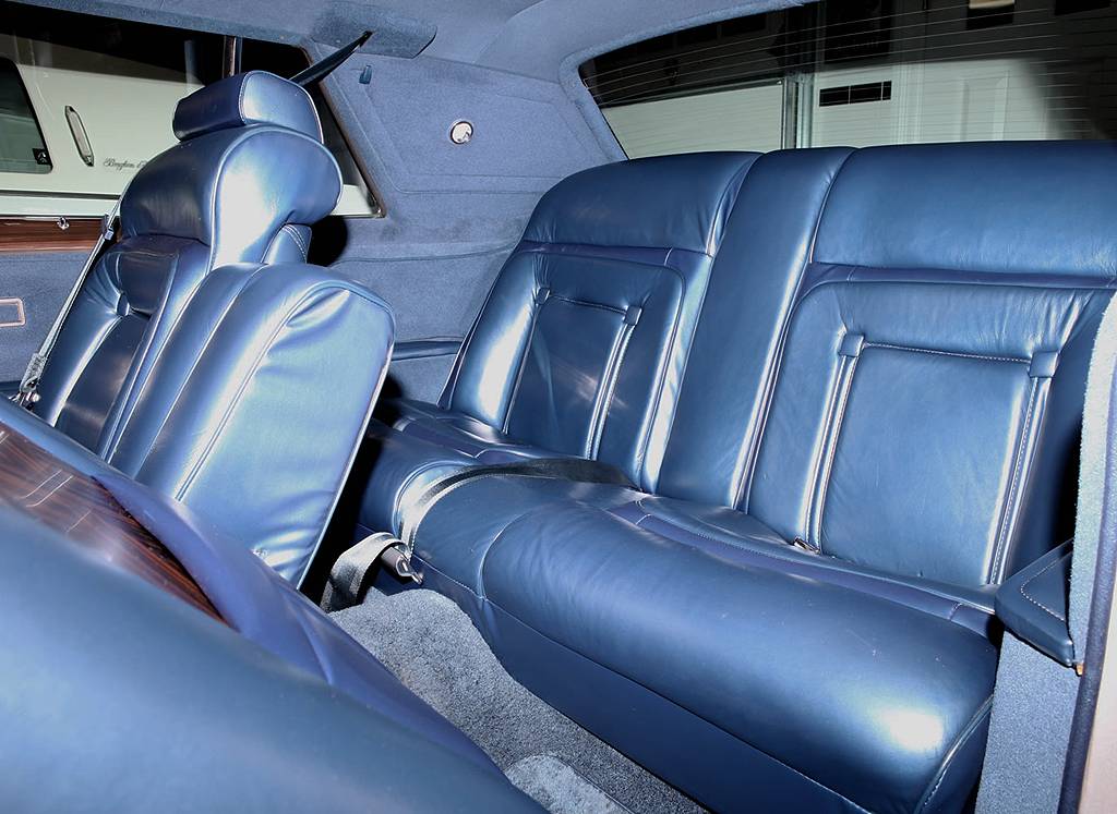 1979 Lincoln Mark V Collectors Series Leather Seats