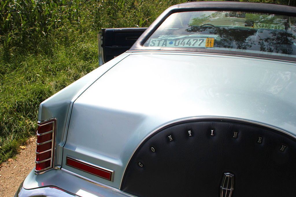 1979, Lincoln, Mark V, Collectors Series, diamond blue, light blue