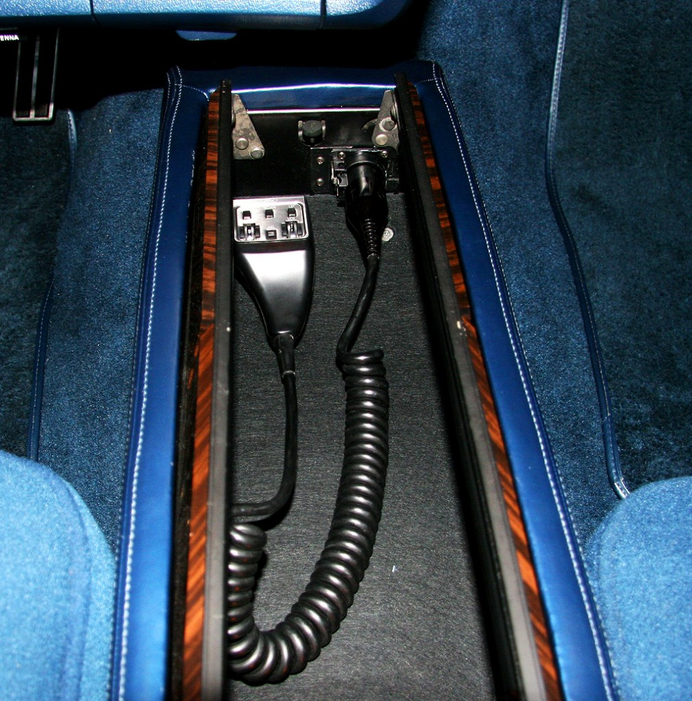 Lincoln Mark V cb radio