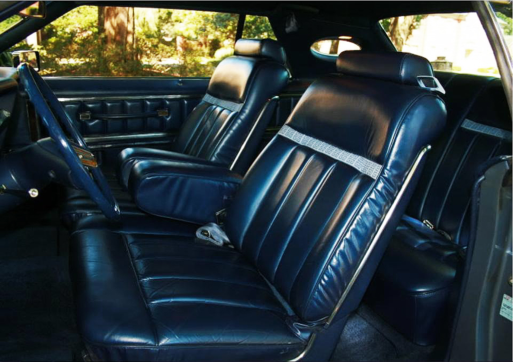1979 Lincoln Mark V Givenchy edition leather interior