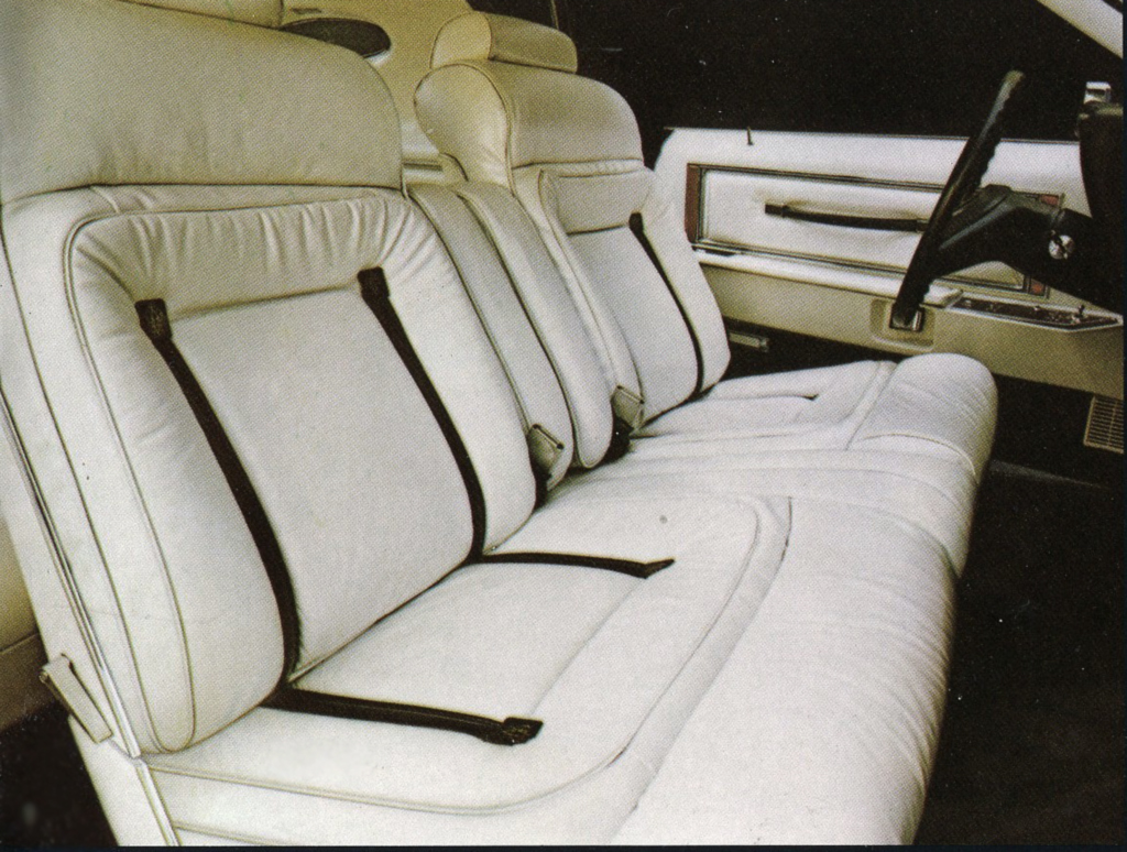 1979 Lincoln Mark V Pucci edition interior