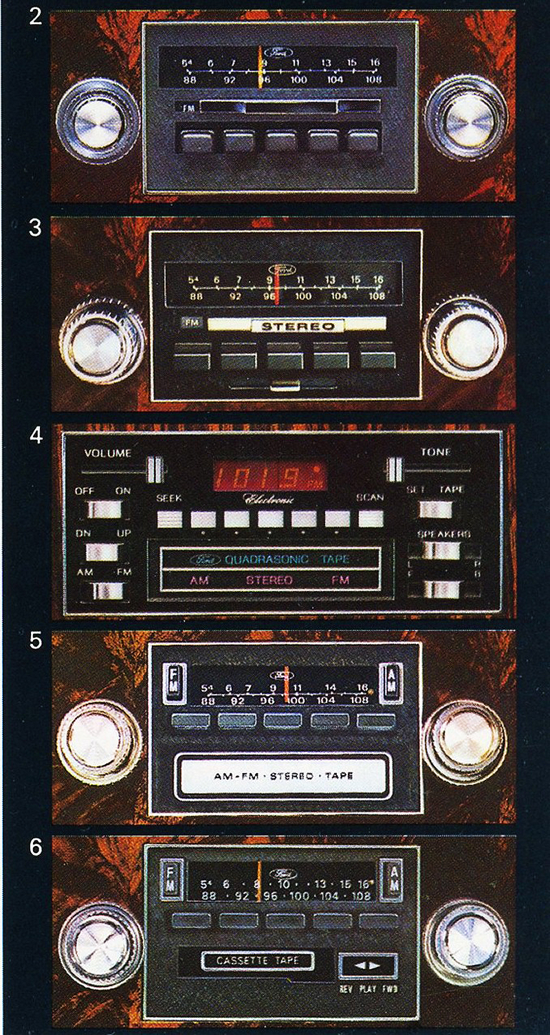 1979 Lincoln Mark V radio