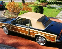 1986 Chrysler LeBaron Town & Country convertible
