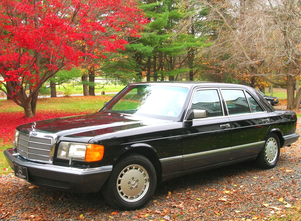 1991 mercedes 560sel left front view classic cars today for 1991 mercedes benz 560sel