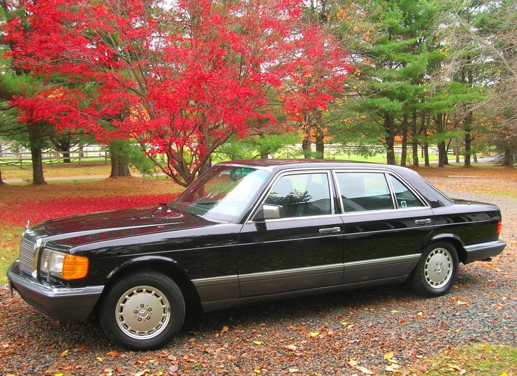 1991 mercedes 560sel left side view classic cars today for 1991 mercedes benz 560sel