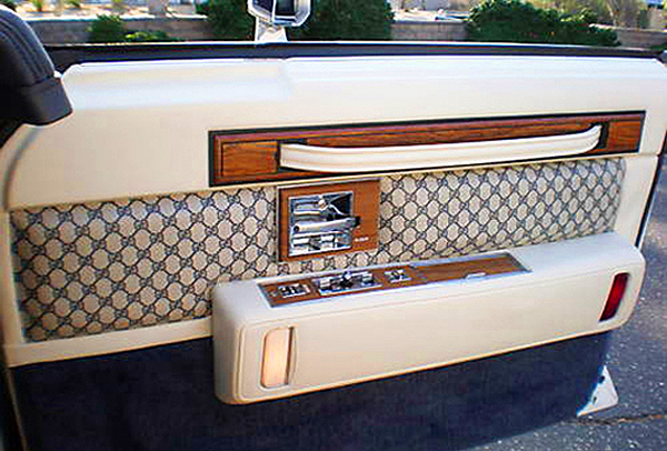 1980 cadillac seville gucci edition door view classic cars today online. Black Bedroom Furniture Sets. Home Design Ideas