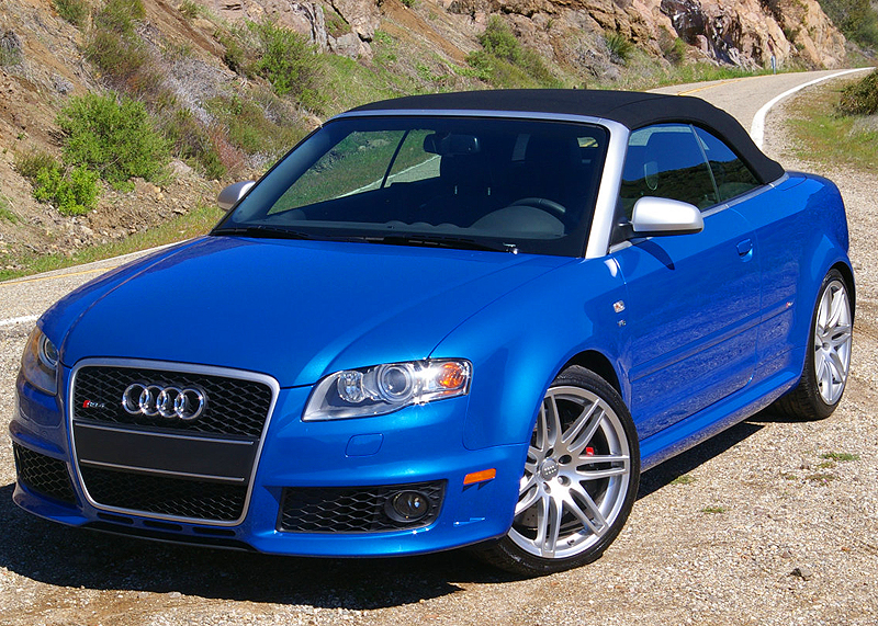 2008 Audi Rs4 Convertible Blue Classic Cars Today Online