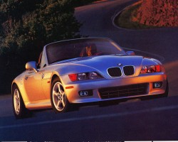 A final-year 2002 BMW Z3 advertisement.  (Photo credit: BMW North America)