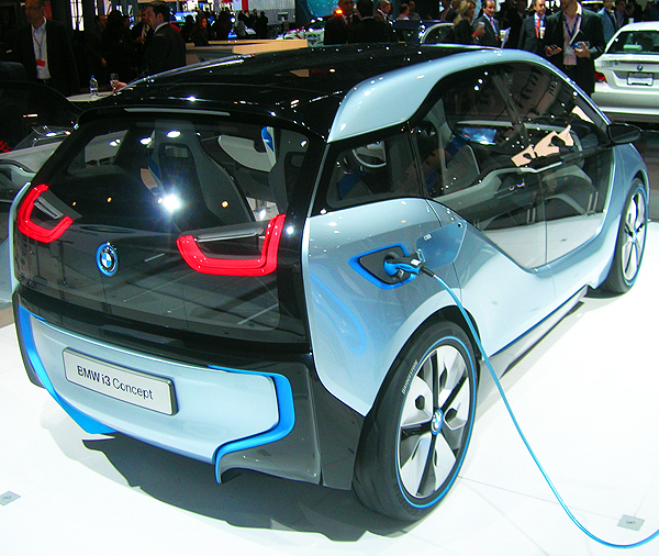 BMW's i3 all-electric concept car.  (Photo credit: Sean Connor)