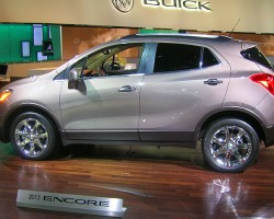 Buick's new Encore is designed for high fuel economy, but not style.  (Photo credit: Sean Connor)