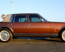 1978 and 1979 Seville Gucci Editions like this one were offered in bronze paint (known as Demitasse brown on 1978 models, and as Post Road brown on 1979s).  Photo credit: W. Mannio