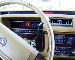 The trip computer package with digital speedometer and readout became optional on all Seville models in 1978, as shown on this '78 model.  (Photo credit: S. Howard)
