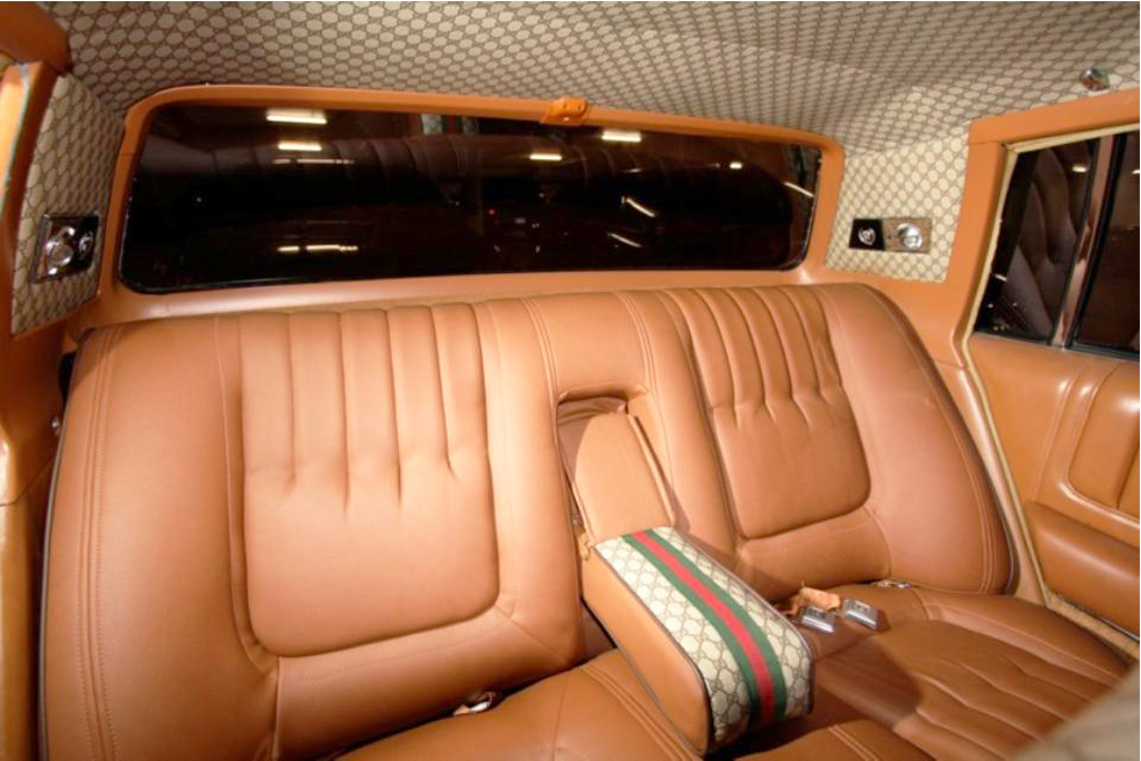 1979 cadillac seville gucci edition rear seat interior classic cars today online. Black Bedroom Furniture Sets. Home Design Ideas