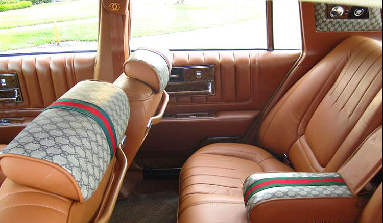 1979 cadillac seville gucci edition interior rear seat classic cars today online. Black Bedroom Furniture Sets. Home Design Ideas