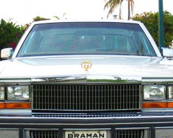 1979 Cadillac Seville Gucci edition, front view.   (Photo credit: G. Sullivan)