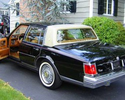 1978 and 1979 Sevilles were offered in a third color: Sable black.  (Photo credit: P. Carbone)