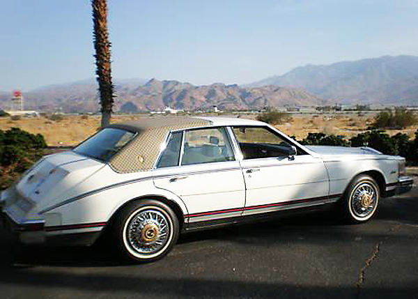 Similar to 1978-79 models, the 1980-85 Seville body was outfitted similarly by Gucci through the 1984 model year. As before, colors were white, black, and bronze.  (Photo credit: S. Delano)