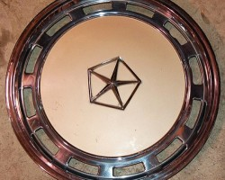 Chrysler color matched wheel cover