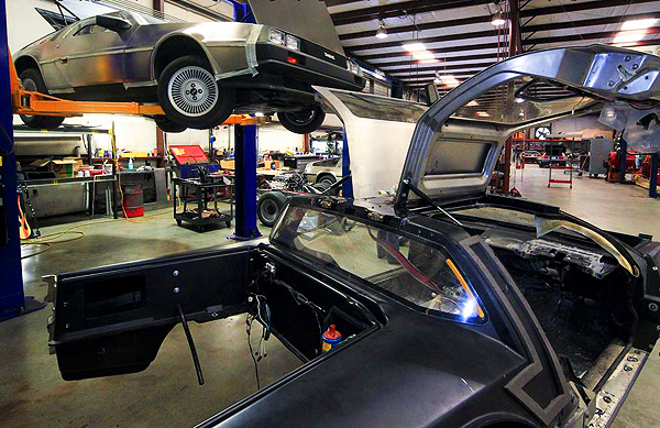 DeLoreans are built, or restored, from the ground up. (Photo credit: DeLorean Motor Company)