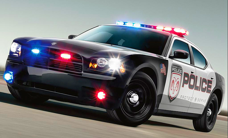 2009 Dodge Charger police car