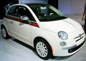 fiat 500 gucci edition in white classic cars today online. Black Bedroom Furniture Sets. Home Design Ideas