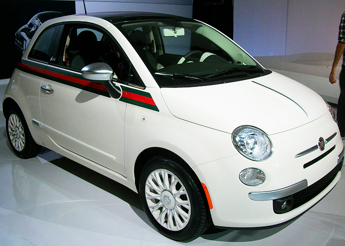The new Fiat 500 will also be available in white.  (Photo credit: Fiat S.p.A.)