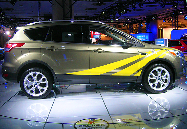 Ford's new 2013 Escape lacks any of the positive attributes that well-designed SUVs, minivans, small hatchbacks, or station wagons possess.  (Photo credit: Sean Connor)