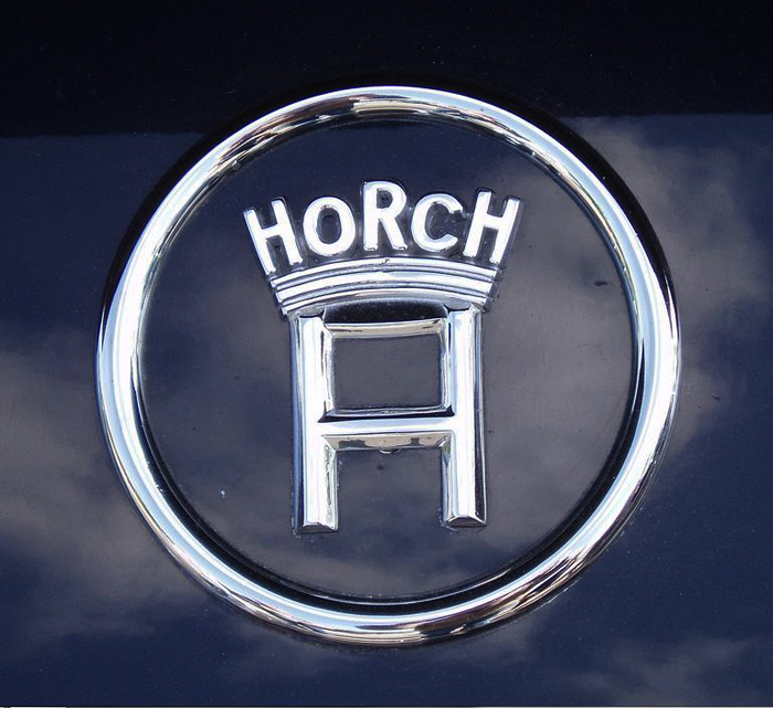 The Horch Motor Cars brand logo.  (Photo credit: Sean Connor)
