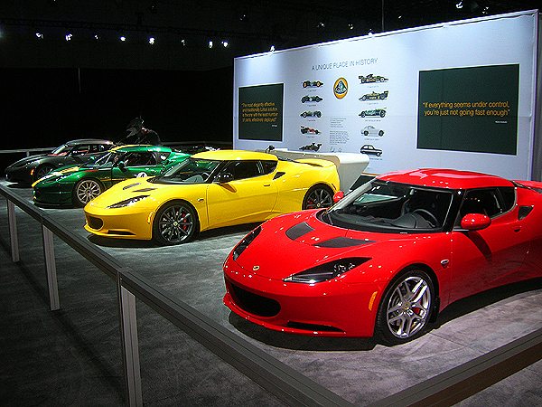 Lotus debuts supercharged S versions of its Elise sports car at the New York show this coming week.  (Photo credit: Sean Connor)