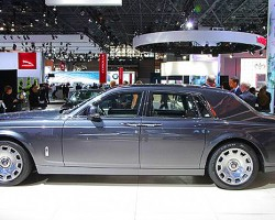 Introducing the new Rolls Royce Phantom, company CEO said 2011 was the first year China was the companys largest market instead of the US. That may change...  (Photo credit: Sean Connor)