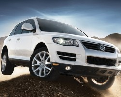 A 2008 Volkswagen Touareg V10 Turbodiesel.  (Photo credit: Volkswagen of America)