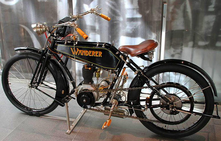 Wanderer Early Motorcycle At Audi Ingolstadt Museum