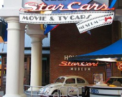The Hollywood Star Cars Museum is open seven days a week, and offers great family entertainment for $13 admission per person. (Photo credit: Hollywood Star Cars Museum)