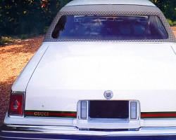 1979 Cadillac Seville Gucci edition, rear view.  (Photo credit: G. Sullivan)