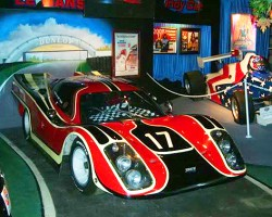"Steve McQueen used this 1970 Formula 1 racer in '71 movie ""LeMans"".  (Photo credit: Hollywood Star Cars Museum)"