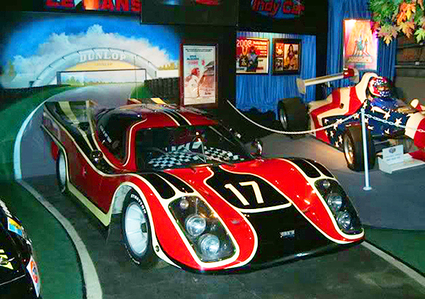 Steve Mcqueen S Race Car In Lemans At Hollywood Star Cars Museum