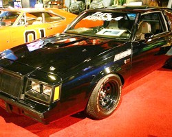 From the fourth movie in The Fast and the Furios movie series, a 1987 Buick Grand National GNX.  (Photo credit: Hollywood Star Cars Museum)