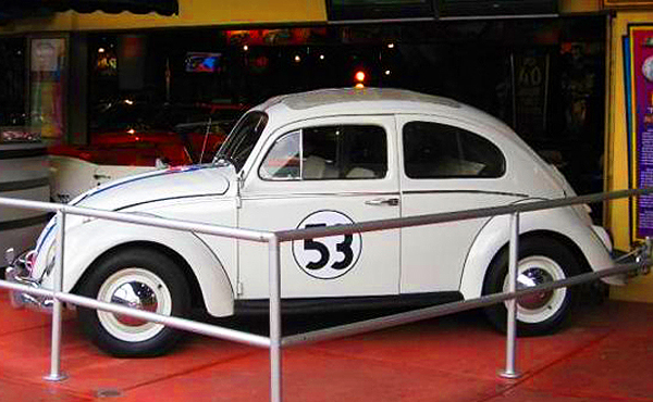 hollywood star cars museum herbie the love bug