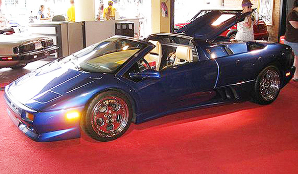 Mike's Lamborghini at Hollywood Star Cars Museum