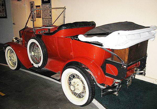 "The 1928 Porter Touring car used in the television series ""My Mother The Car"".  (Photo credit: Hollywood Star Cars Museum)"