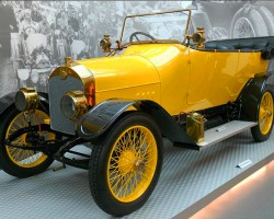 Improving on the Type A above, the Audi Type B was also produced as a 1910 model, with horsepower bumped up to 28.  (Photo credit: Sean Connor)