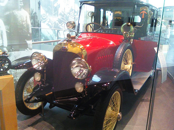 The Audi Type G, produced from 1914 - 1919.  (Photo credit: Sean Connor)