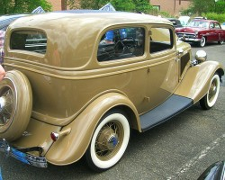 1934 Ford coupe.  (Owned by Jerry Wilson)