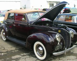 1938 Ford 4-door convertible.  (Owned by Bob Reynolds)
