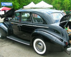 1940 Buick sedan.  (Owned by Aaron Newman)