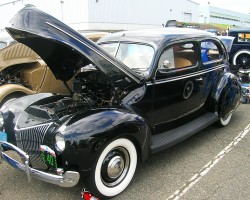 1940 Ford coupe.  (Owned by Bob Galik)