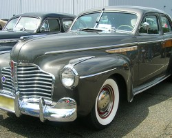 1941 Buick sedan.  (Owned by Arnold Kantor)