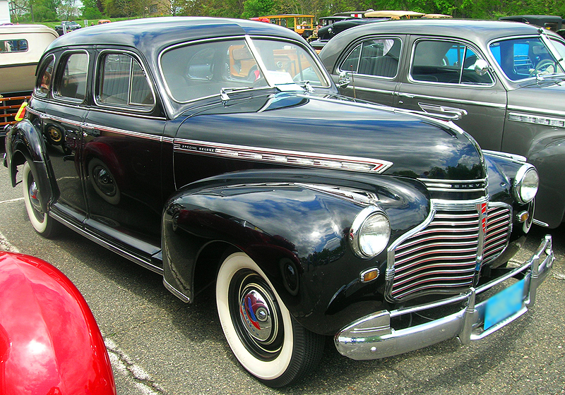 1941 Chevrolet sedan.  (Owned by Arnold Kantor)