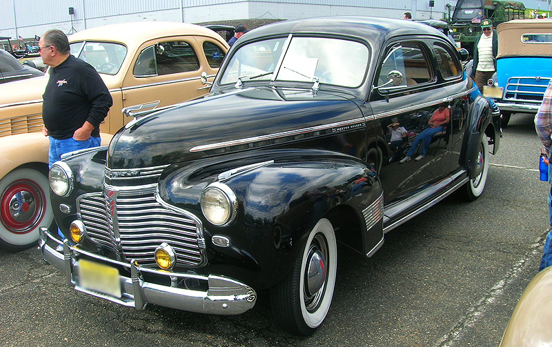 1941 Chevrolet coupe.  (Owned by Chris Werndly)